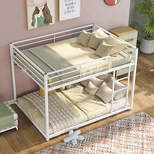 Full Over Full Metal Bunk Bed
