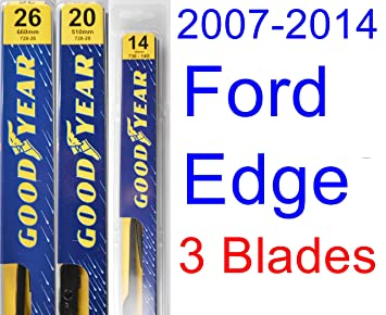 Ford Edge Replacement Wiper Blade Set Kit Set Of  Blades