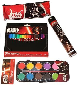 Juego para el colegio de Disney Star Wars: lápices de ...