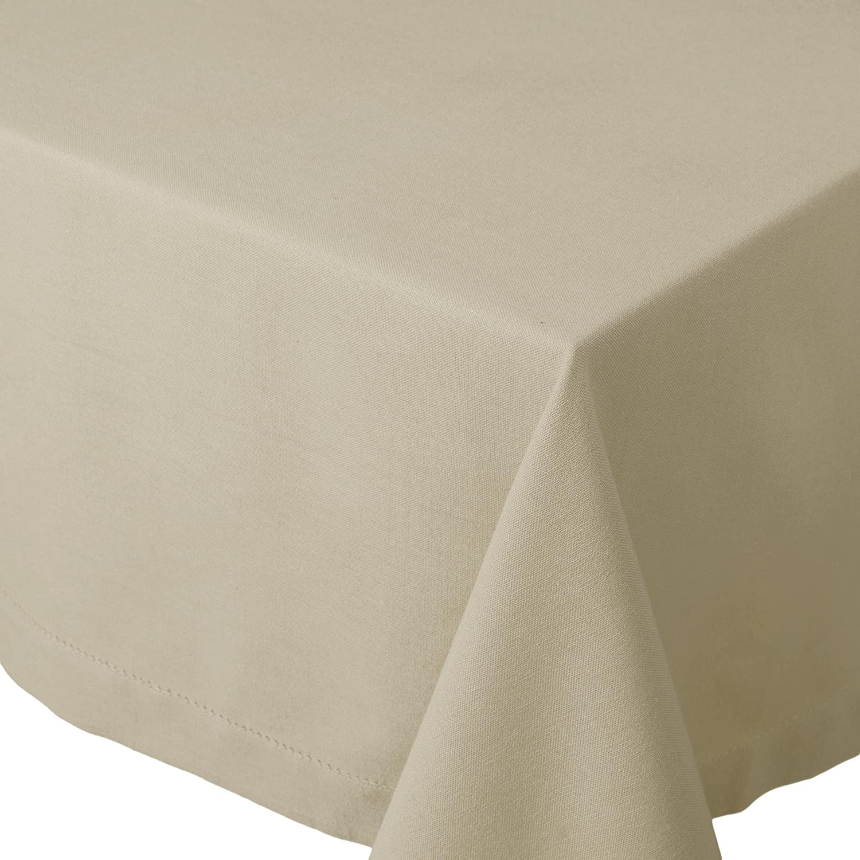 Wonderful Amazon.com: Now Designs Hemstitch Tablecloth, 60 By 60 Inch, White: Home U0026  Kitchen