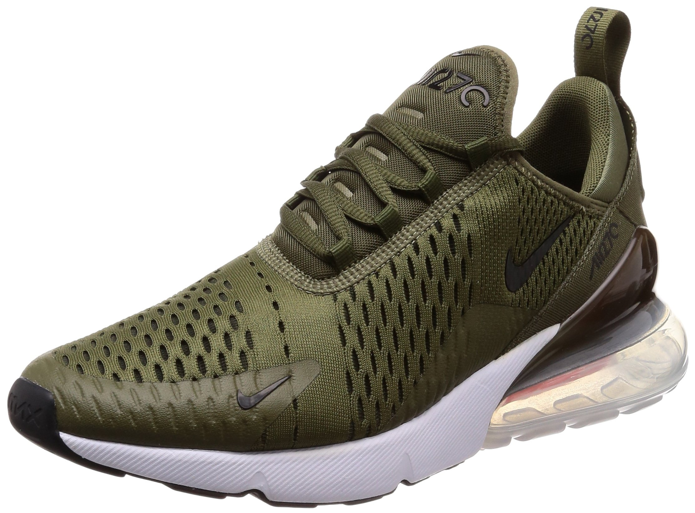 Nike Men's Air Max 270 Medium Olive AH8050 201 (Size: 9)