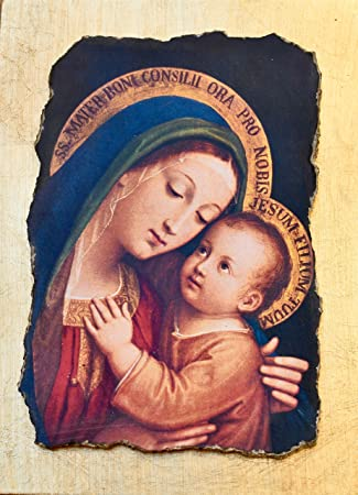 Amazonde Ars Martos Madonna Del Buonconsiglio Maria Mutter Vom