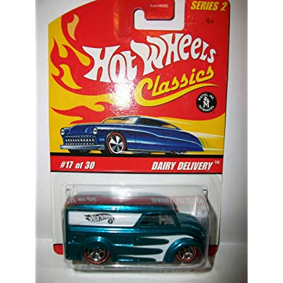 2006 Hot Wheels Classics Light Blue Spectraflame Dairy Delivery 1:64 Scale Collectible Die Cast Car: Toys & Games