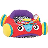Playgro 0186362 Music and Lights Comfy Car (Red) for baby infant toddler