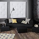 Amazon Com College Cozy Sofa Mini Futon Charcoal