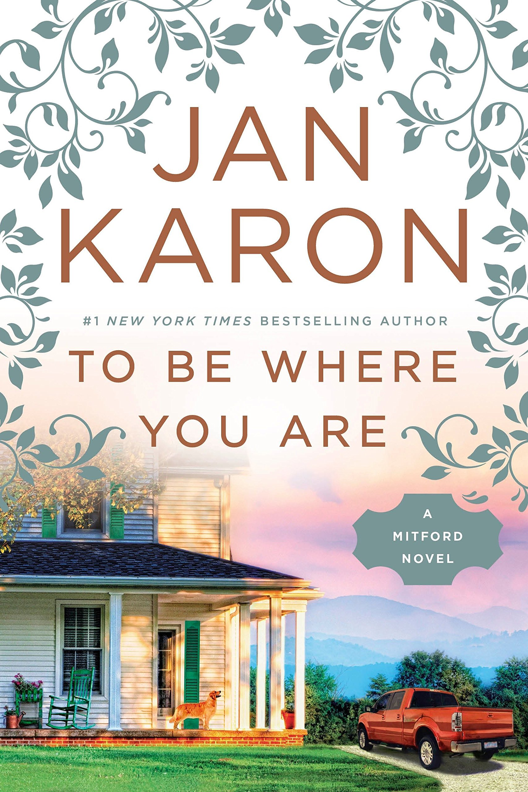 to be where you are a mitford novel