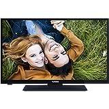 Telefunken XH28A101 72 cm (28 Zoll) Fernseher (HD Ready, Triple Tuner, DVB-T2 H.265/HEVC) schwarz