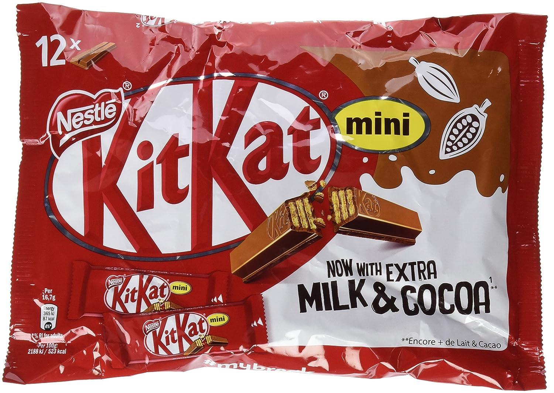 NESTLÉ KITKAT Mini Chocolate con Leche - Barritas en Bolsa 200g: Amazon.es: Amazon Pantry
