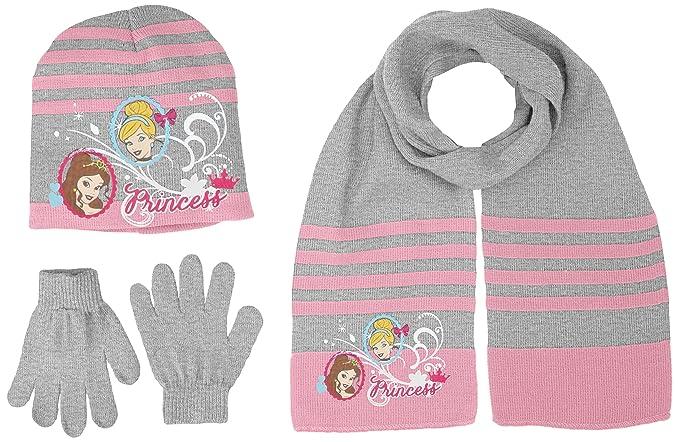Disney Girls Scarf Hat /& Glove Set