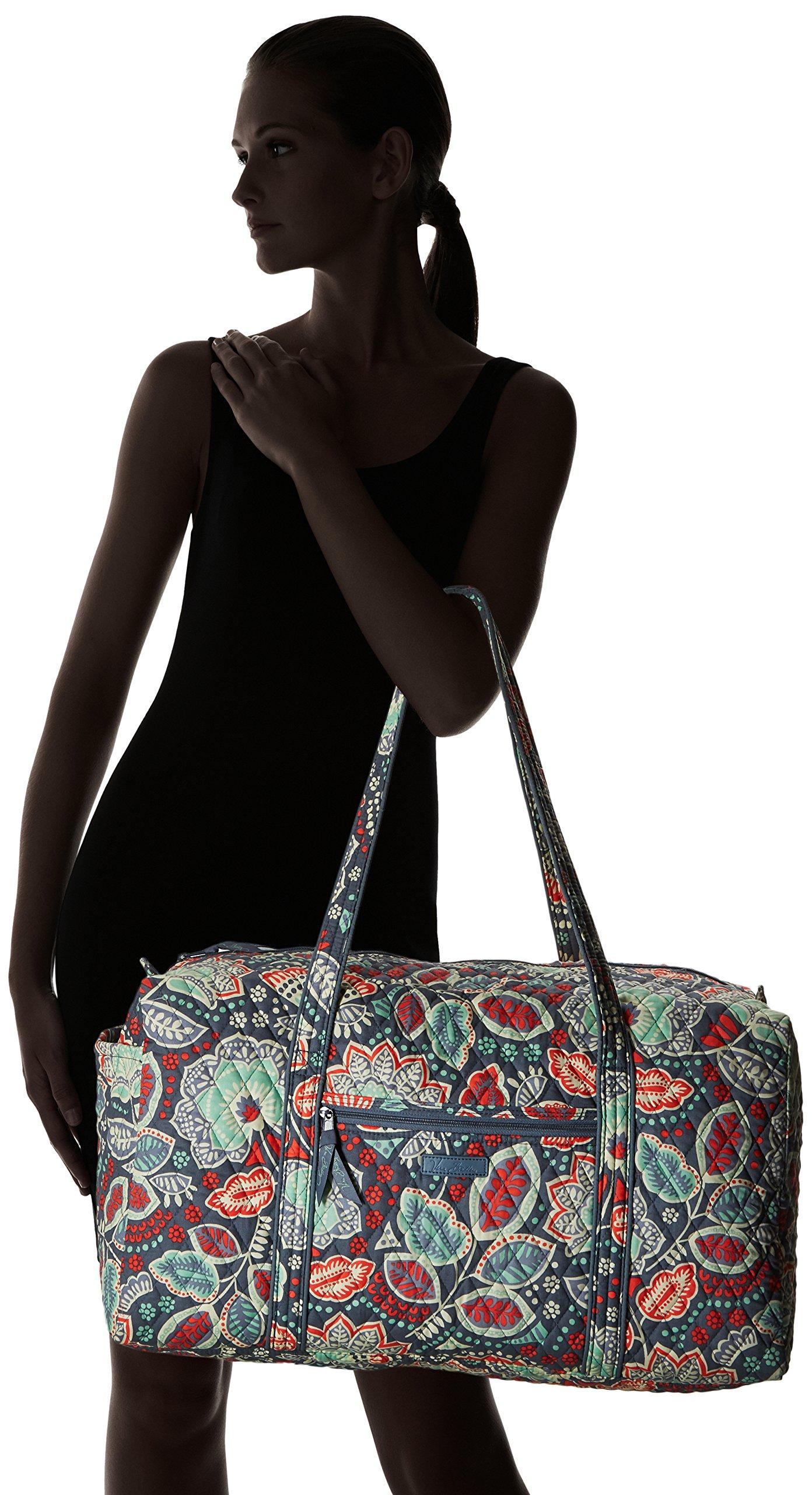 Vera Bradley Luggage Women's Large Duffel Nomadic Floral Duffel Bag by Vera Bradley (Image #6)