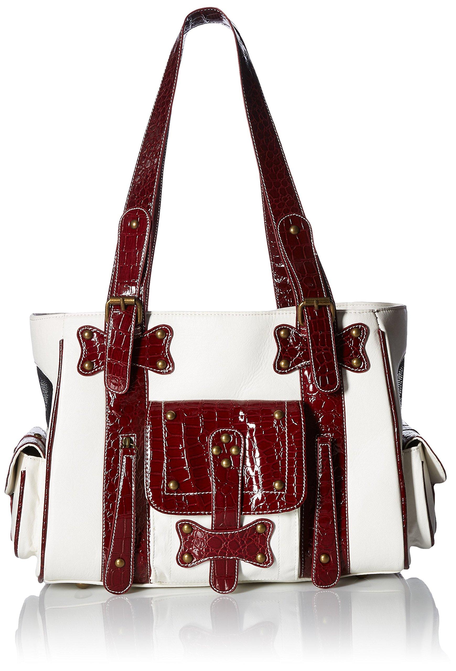 Backbone Cowboy Style Faux Leather Pet Carrier by Backbone