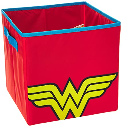 Everything Mary Con Wonder Woman Collapsible Storage Bin By DC Comics Cube  Organizer For Closet