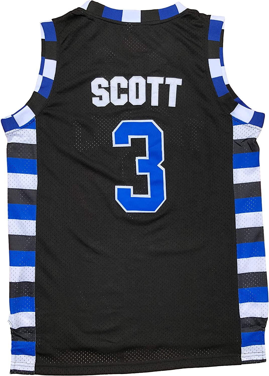 Lucas Scott #3 One Tree Hill Ravens Throwback Basketball Jersey S-XXL