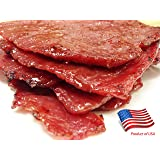 """World Famous Made-to-Order Fire-Grilled (Singapore-Style) Oriental Beef Jerky (Original Flavor - 12 Ounce) - Los Angeles Times""""Handmade Gift"""" Winner"""