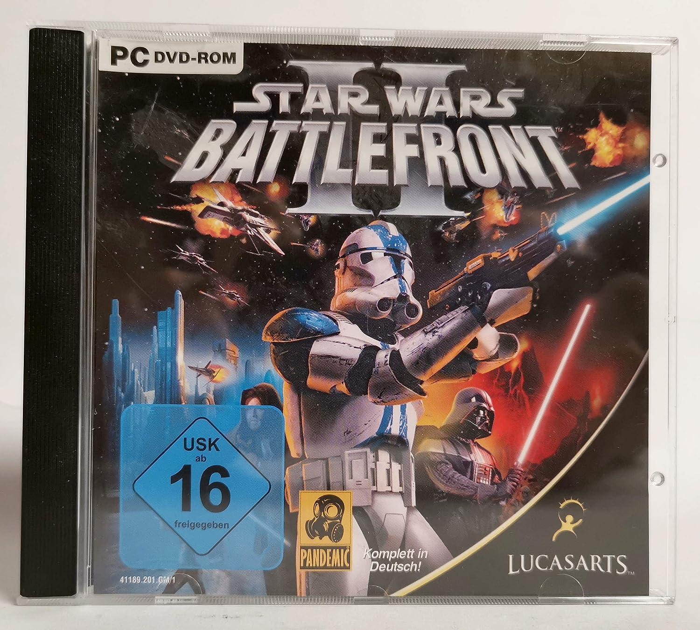 Star Wars Battlefront 2 CD-Rom Jewelcase - PC-Spiele [Audio CD]: unbekannt: Amazon.es: Videojuegos
