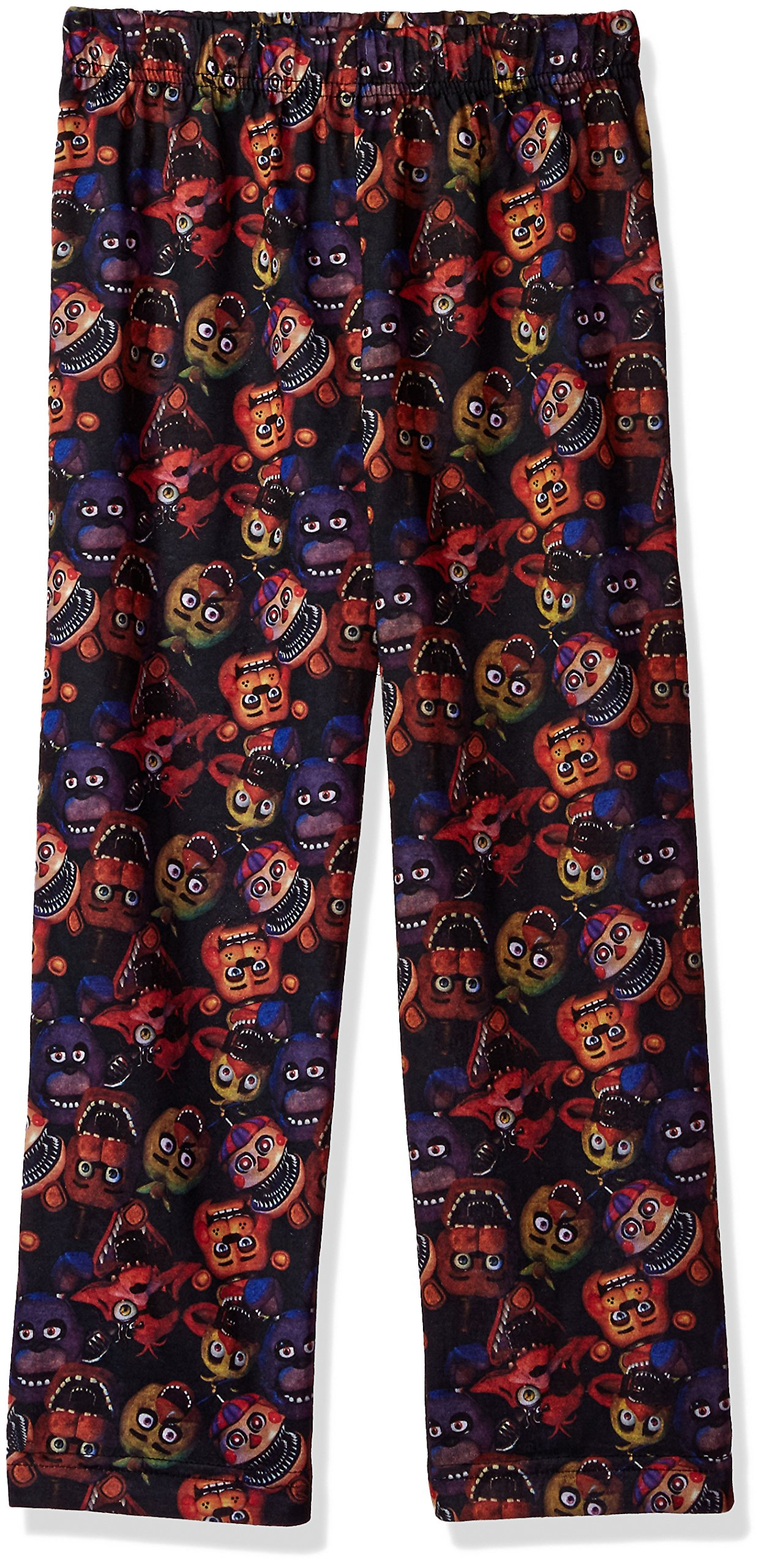 Five Nights at Freddy's 'Bear Pizza Fazbear Video Game' Pajama Lounge Pant, Black, 10/12