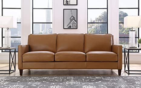 Sensational Hydeline Ashby 100 Leather Sofa Set Sofa Cognac Pabps2019 Chair Design Images Pabps2019Com