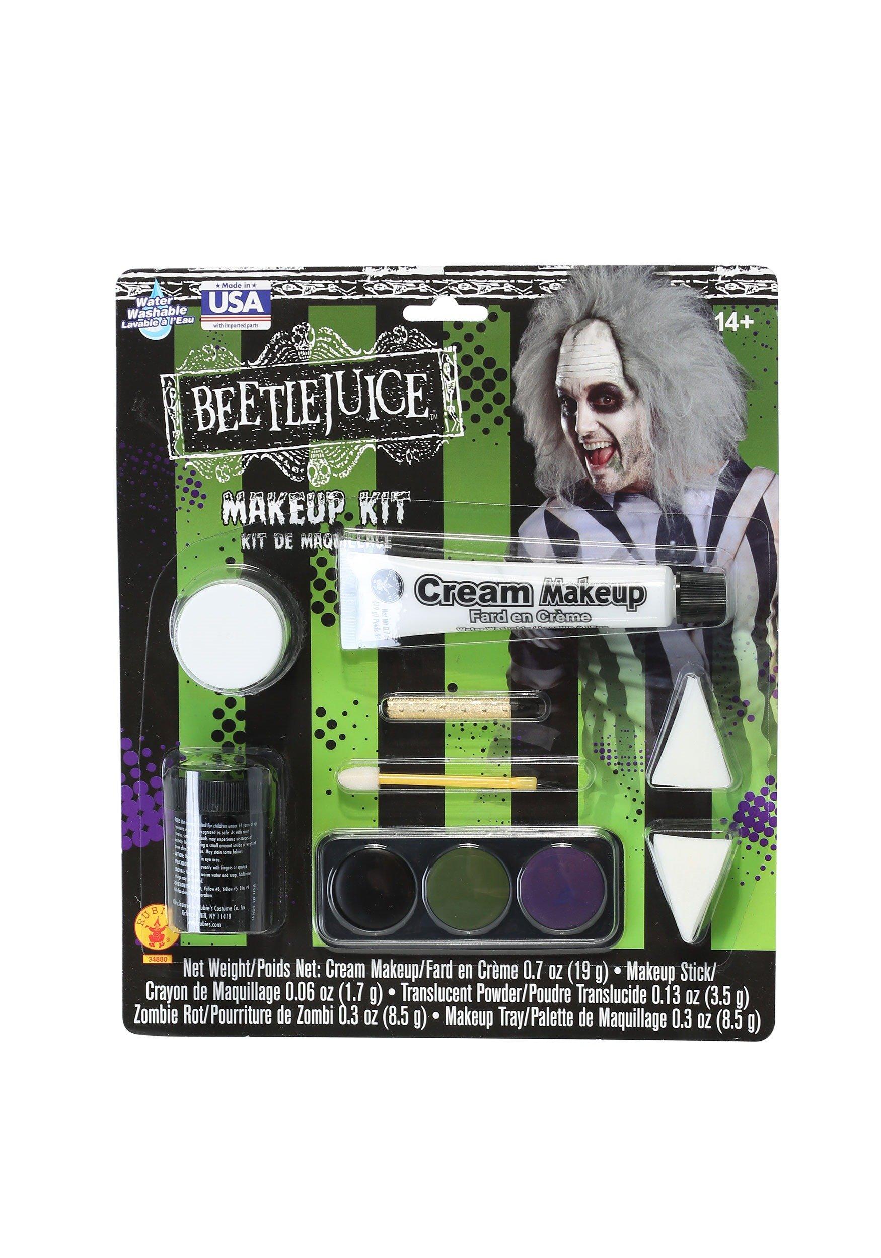 Rubies Deluxe Beetlejuice Makeup Kit - ST