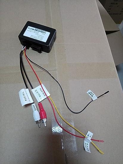 hizpo Fiber Optic Box Adapter for Hizpo Benz//Cayenne Stereo