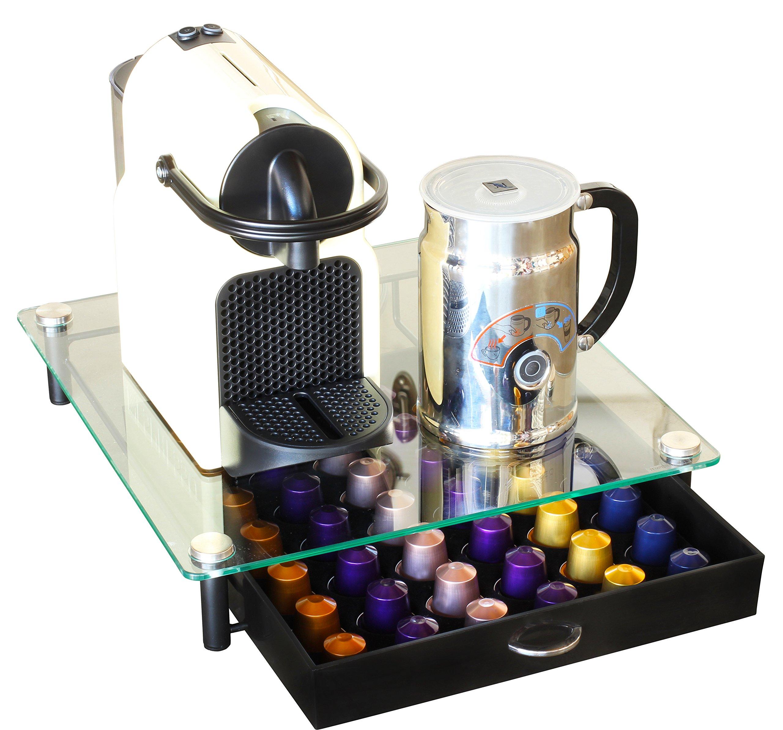 Decobros Crystal Tempered Glass Nespresso Originalline