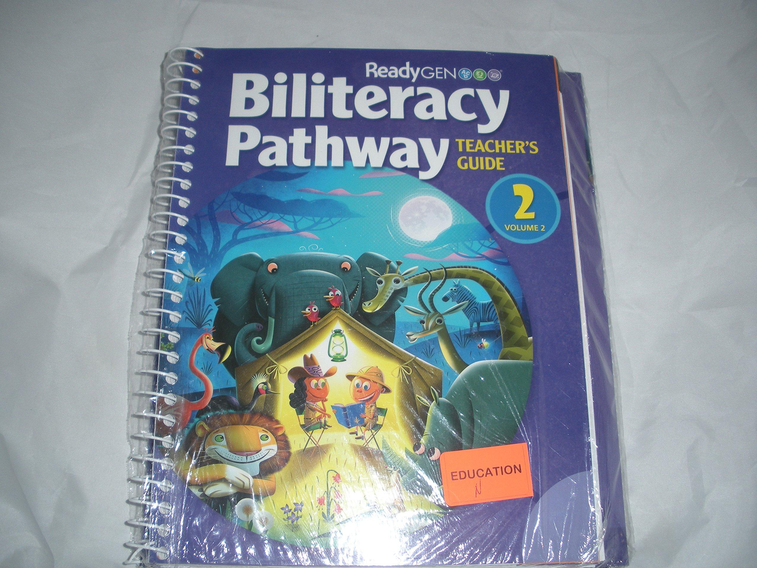 Biliteracy Pathway Teacher's Guide (Grade 2) 2-Volume Set: ReadyGen Pearson:  9780328868780: Amazon.com: Books