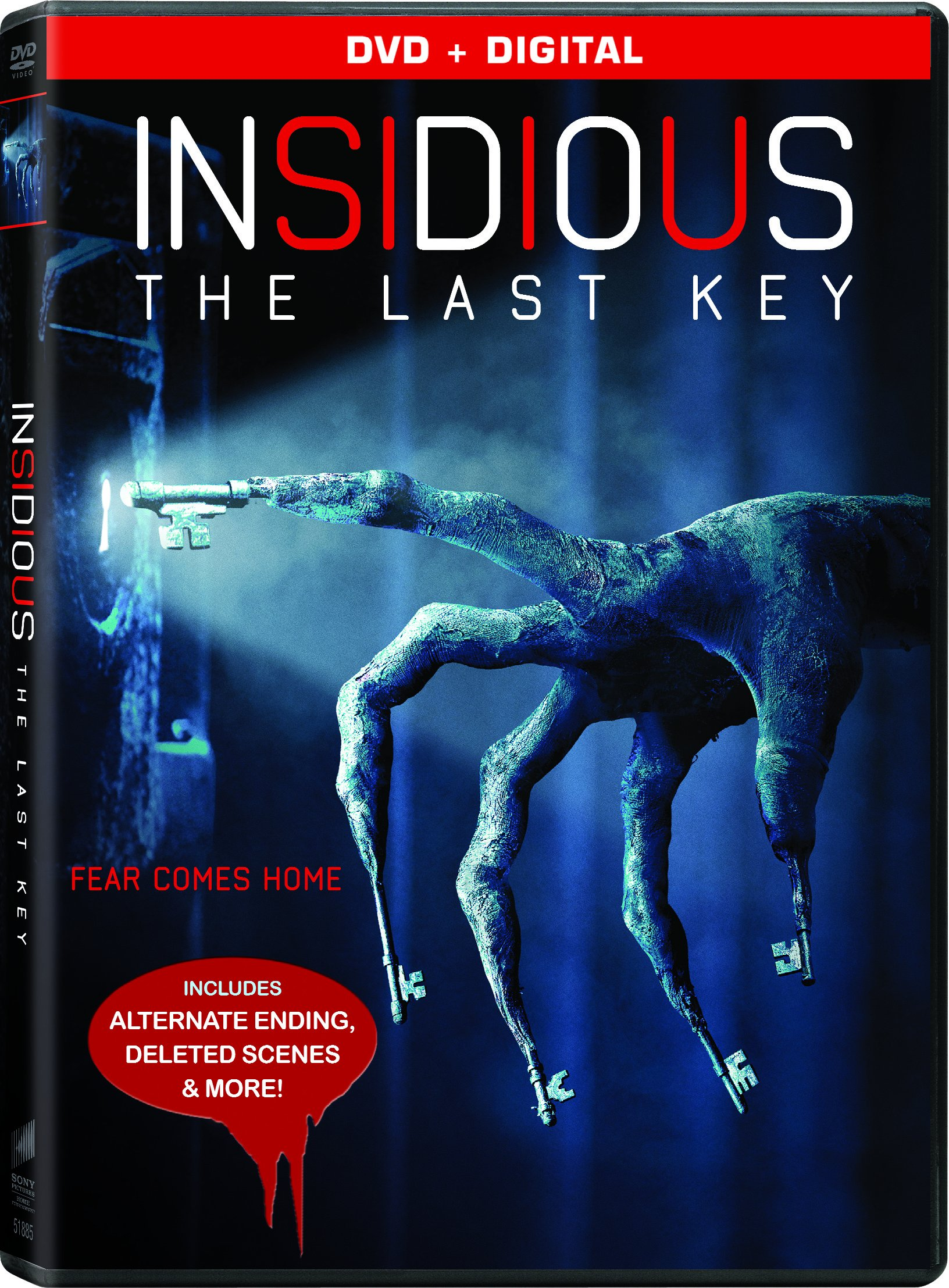 DVD : Insidious: The Last Key (Widescreen, Dolby, AC-3, Subtitled)