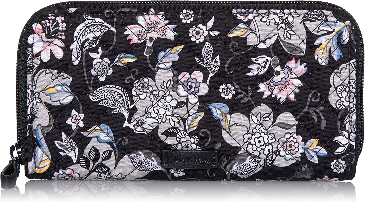 Vera Bradley Women's Signature Cotton Georgia Wallet with RFID Protection