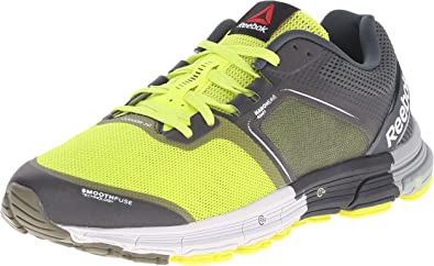 Reebok One Cushion 3.0 - Zapatillas de correr para hombre, Amarillo (Semi Solar Amarillo/Verde Oliva/Salvia Oscuro/Acero/Grava/Gris Plano), 42 EU: Amazon.es: Zapatos y complementos