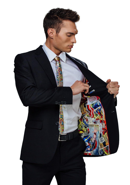 FUNSUITS Marvel Comic Strip Suit Jacket (Secret Identity)