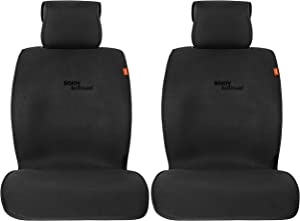 Sojoy Seat Cover Universal Cooling Cushion TOP of The LINE Breathable Fabric Car Seat Cover Cushion for Front 2 Seats (Black)