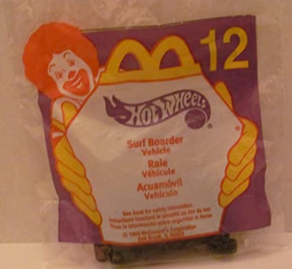 Mattel HOT WHEELS - McDONALDS Happy Meal TOY CAR -