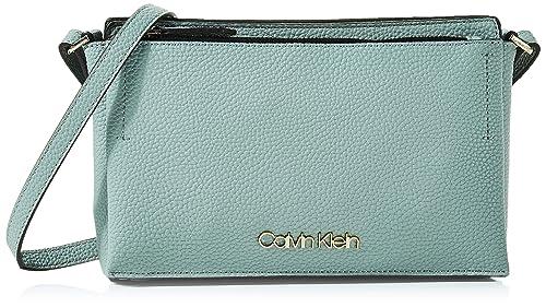 Calvin Klein Damen Sided Ew Crossbody Umhängetasche, 5x16x26 cm