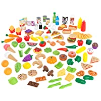 Deals on KidKraft Tasty Treats Play Food Set (115 Pieces)