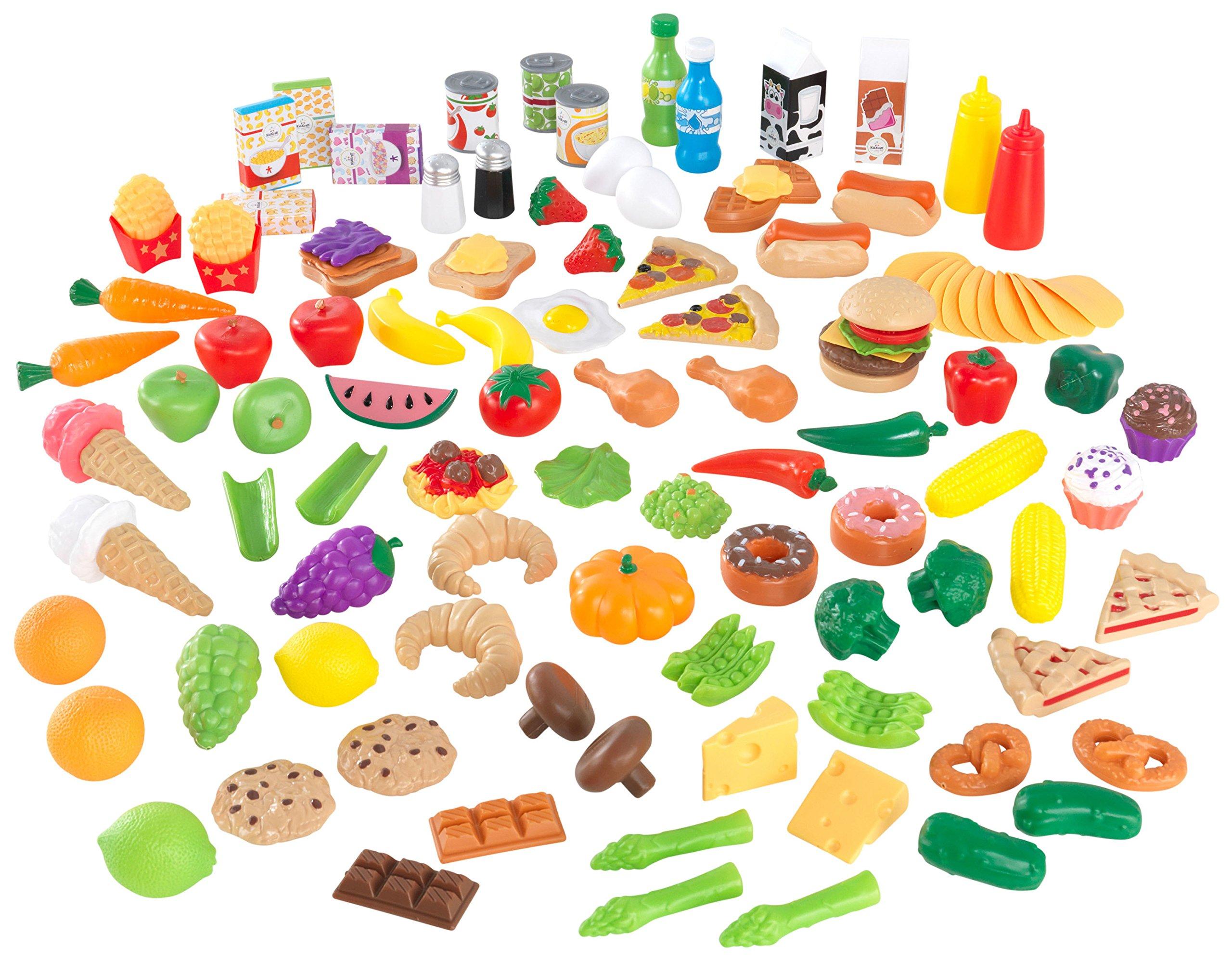 KidKraft Tasty Treats Play Food Set (115 Pieces) by KidKraft