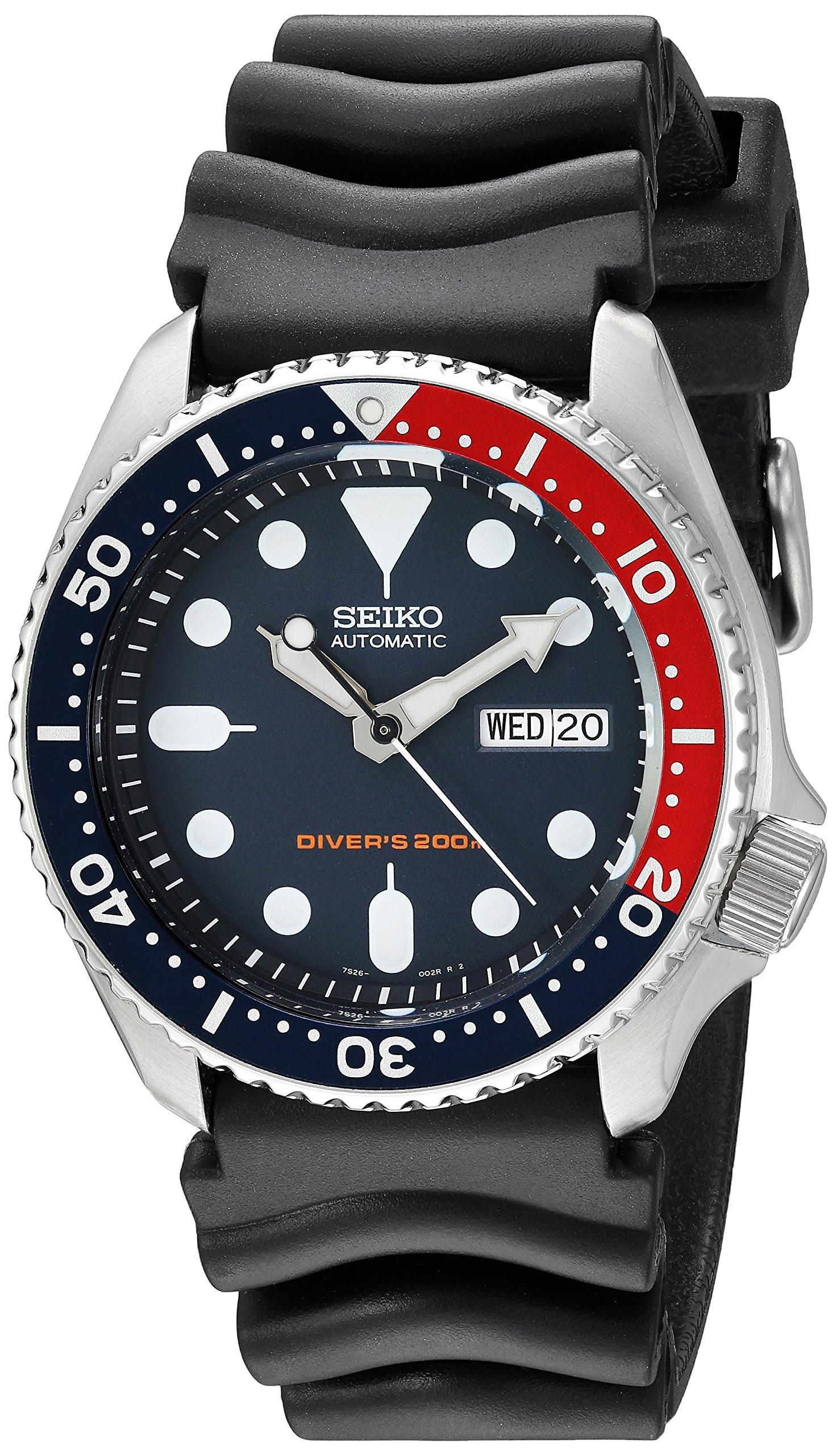 Divers Automatic Deep Blue Dial Mens Watch SKX009K1