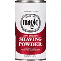 Softsheen-Carson Magic Razorless Shaving for Men, Magic Extra Strength Shaving Powder, for Coarse Textured Beards…