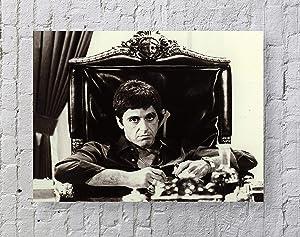 MeiMeiZ Godfather Al Pacino Poster Poster Standard Size   18-Inches by 24-Inches  Godfather Posters Wall Poster Print