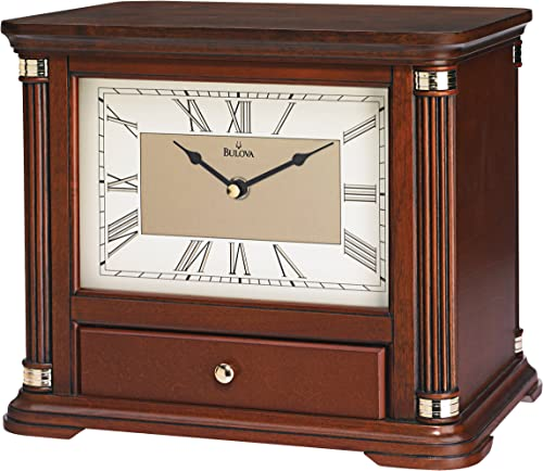 Bulova Norbourne Storage Mantel Clock