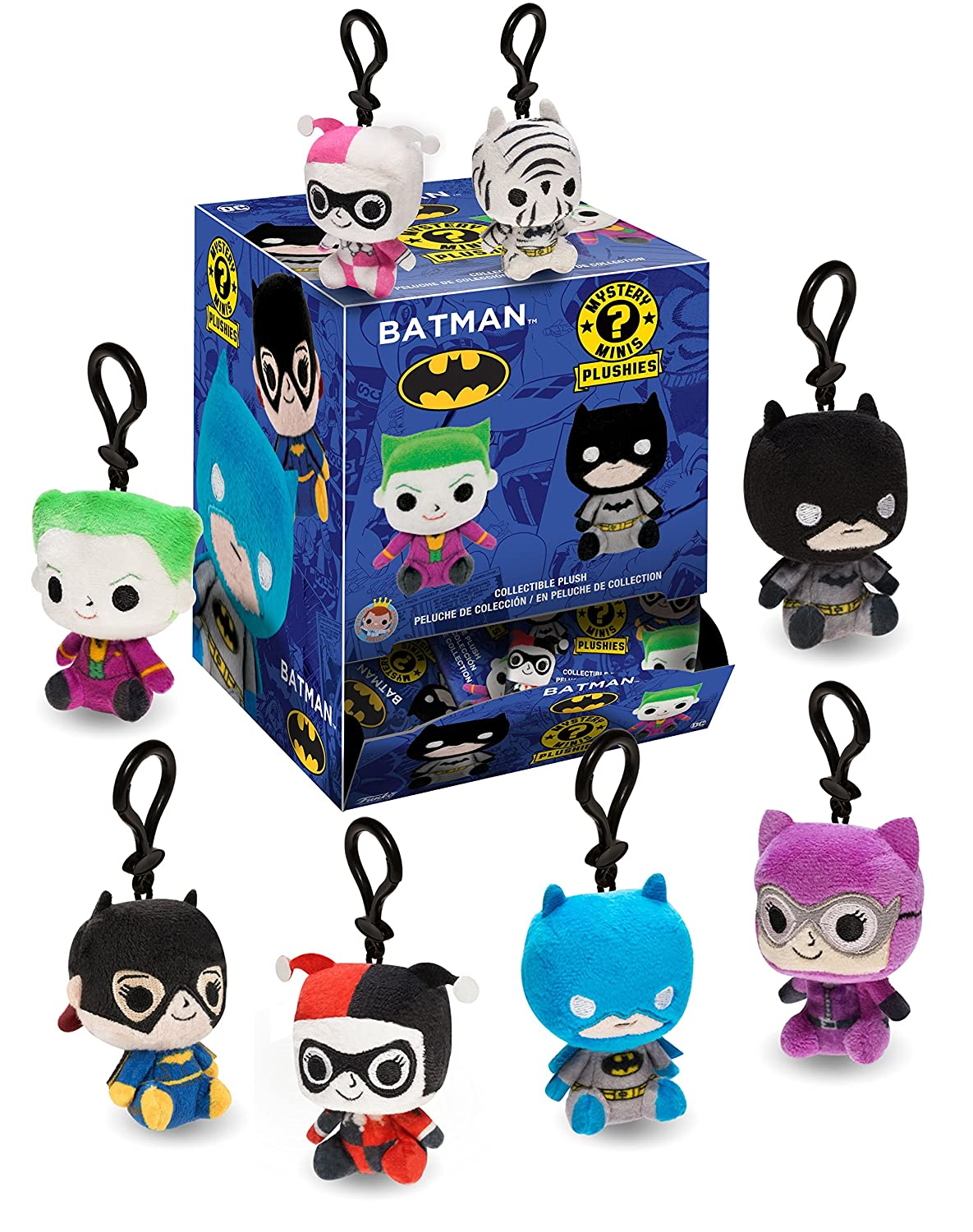 Amazon.com: Funko Blind Box DC-Batman (One Mystery Plush) Collectible Figure: Funko Plush:: Toys & Games