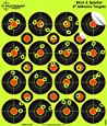 """Splatterburst Targets - 2 inch """"Stick & Splatter"""" Reactive Self Adhesive Shooting Targets - Gun - Rifle - Pistol - AirSoft - BB Gun - Pellet Gun - Air Rifle"""