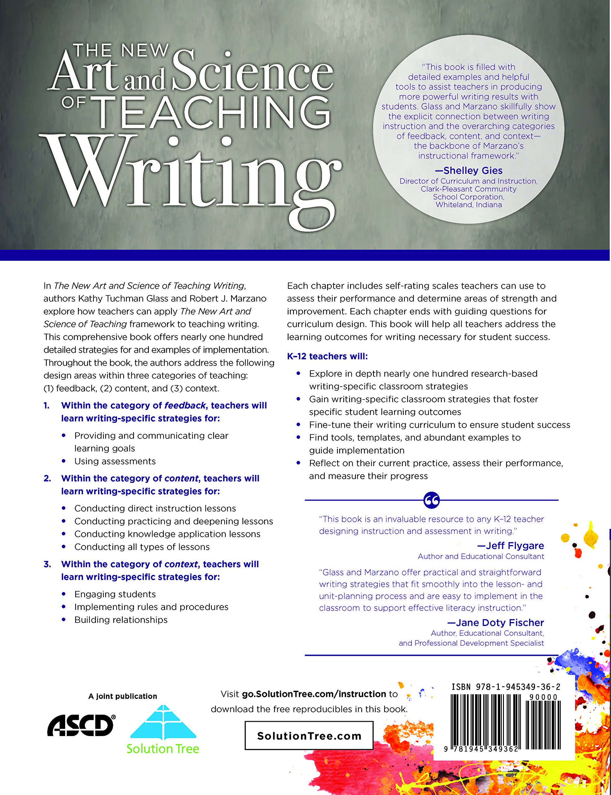 The New Art And Science Of Teaching Writing Research Based