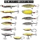 釣りルアーセット 釣具セット 347個 ソフトルアー ハードルアー ワーム フライ ケース付き 多種類 釣り初心者に