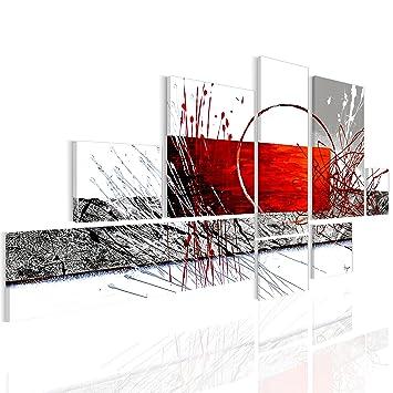murando handgemalte Bilder auf Leinwand Abstrakt 180x120 cm - 8 ...