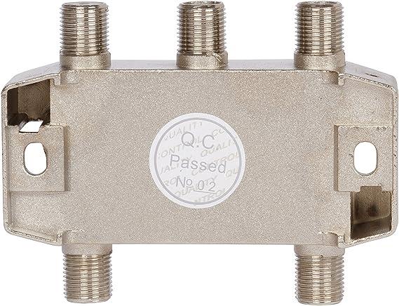 Bamf 4-Way Cable coaxial Splitter bidireccional Moca 5 - 2300 MHz: Amazon.es: Electrónica