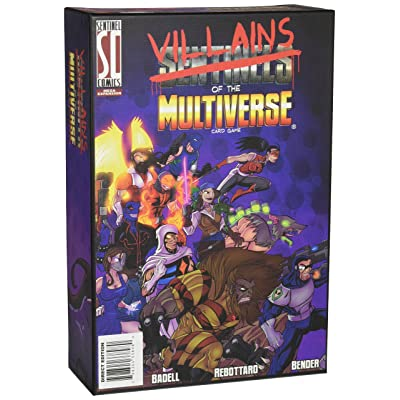 Greater Than Games Sentinels of The Multiverse: Villains of The Multiverse Board Game: Toys & Games