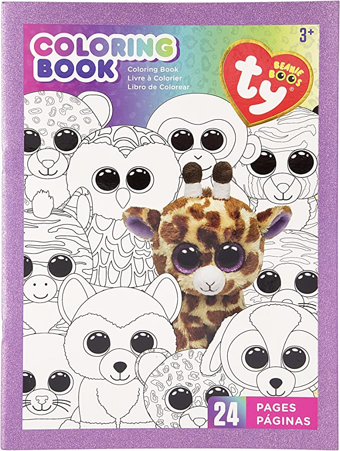 Amazon.com: Darice TY Beanie Coloring Book: Arts, Crafts & Sewing