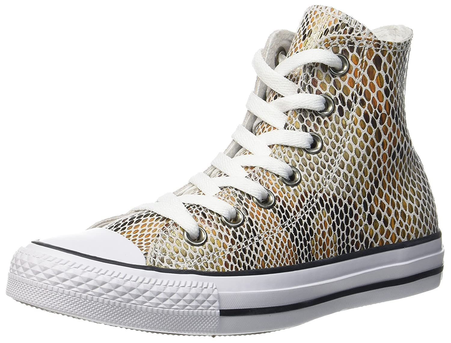 Converse CTAS Hi Natural/Black/White, Zapatillas Altas Unisex Adulto