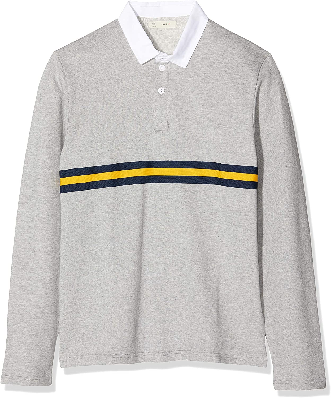 Audacieuse Celio PELEMELE - Polo en coton bandes couleur Homme: Amazon.fr LT-66