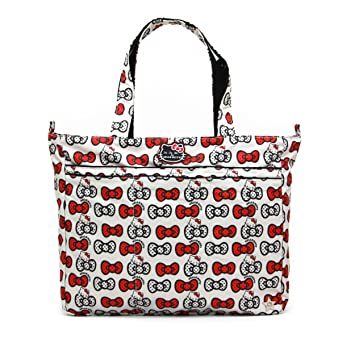 86d06874f9 Amazon.com   Ju-Ju-Be Hello Kitty Collection Super Be Zippered Tote Diaper  Bag