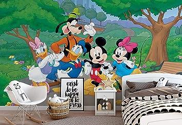Disney Mickey Mouse Vlies Fototapete Fotomural - Wandbild ...